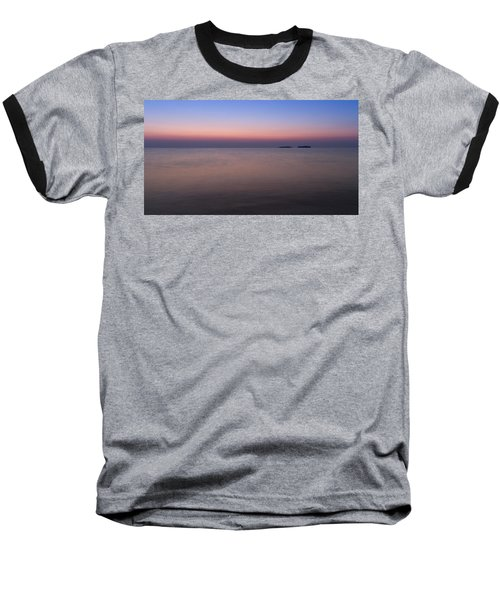 Dawn At The Mediterranean Sea Baseball T-Shirt