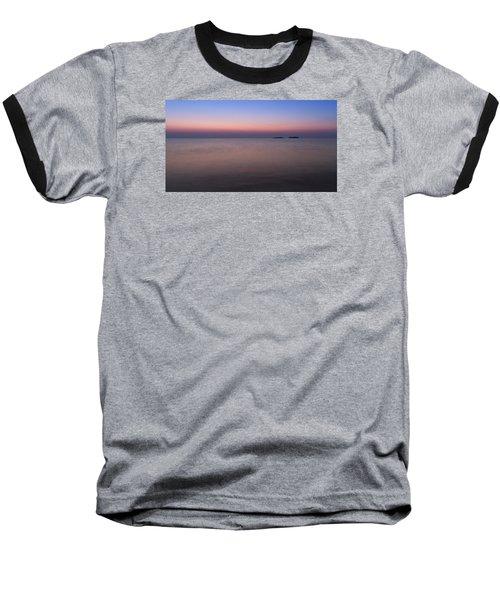 Dawn At The Mediterranean Sea Baseball T-Shirt