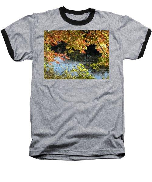 Baseball T-Shirt featuring the photograph The Colors Of Fall by Tara Lynn