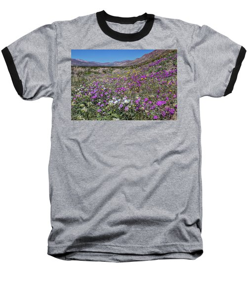 Baseball T-Shirt featuring the photograph The Colors Of Spring Super Bloom 2017 by Peter Tellone