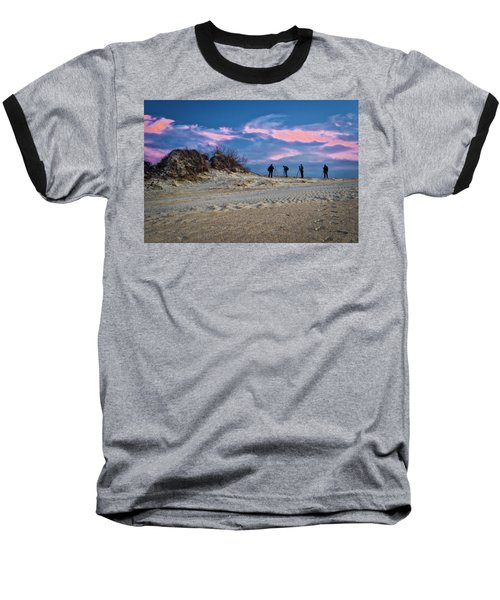 The Colors Of Sunset Baseball T-Shirt