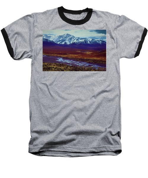 The Colors Of Toklat River Baseball T-Shirt
