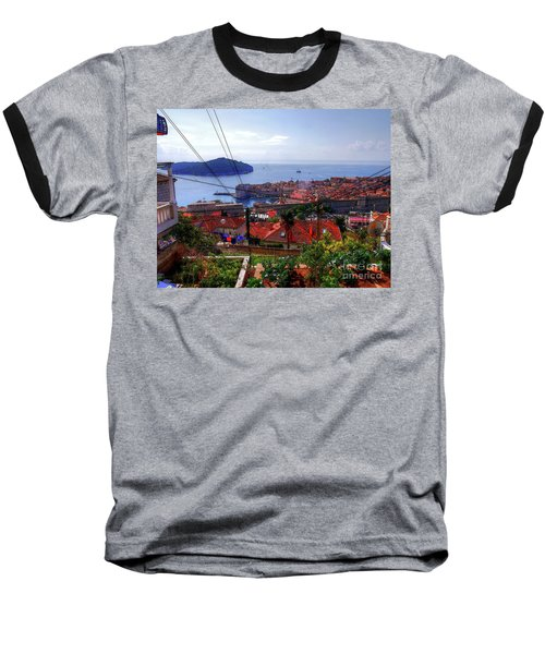 The Colourful City Of Dubrovnik Baseball T-Shirt