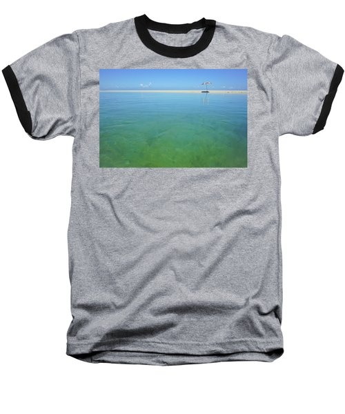 The Colours Of Paradise On A Summer Day Baseball T-Shirt