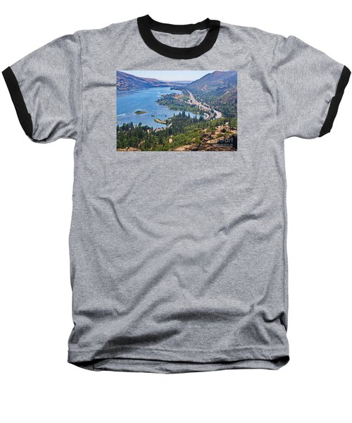 The Columbia River In The Gorge Baseball T-Shirt by Ansel Price