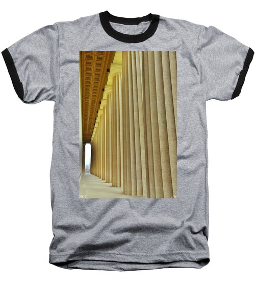 The Columns At The Parthenon In Nashville Tennessee Baseball T-Shirt