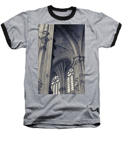 The Columns Of Saint-eustache, Paris, France. Baseball T-Shirt