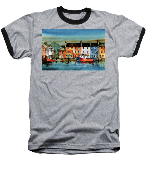 The Commercial Docks, Galway Citie Baseball T-Shirt