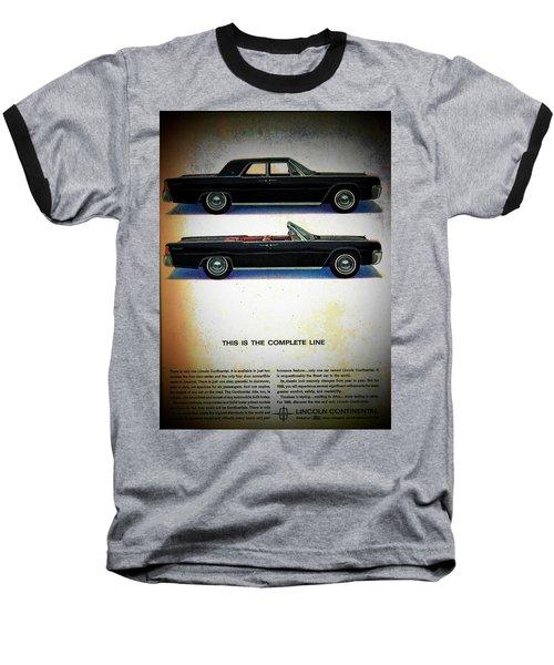 The Complete Line Baseball T-Shirt by John Schneider