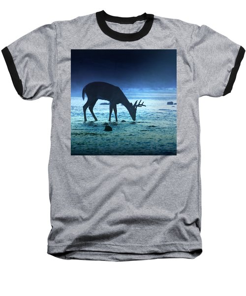 The Cool Of The Night - Square Baseball T-Shirt