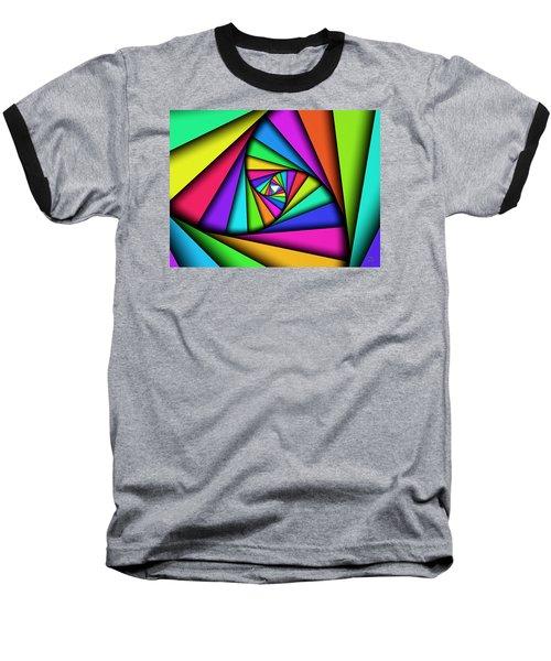 Baseball T-Shirt featuring the digital art The Core by Manny Lorenzo