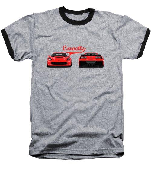 The Corvette Z06 Baseball T-Shirt