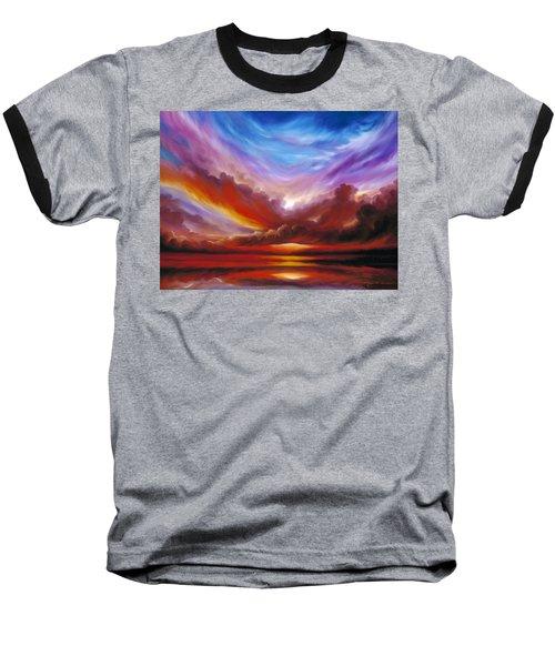 The Cosmic Storm II Baseball T-Shirt