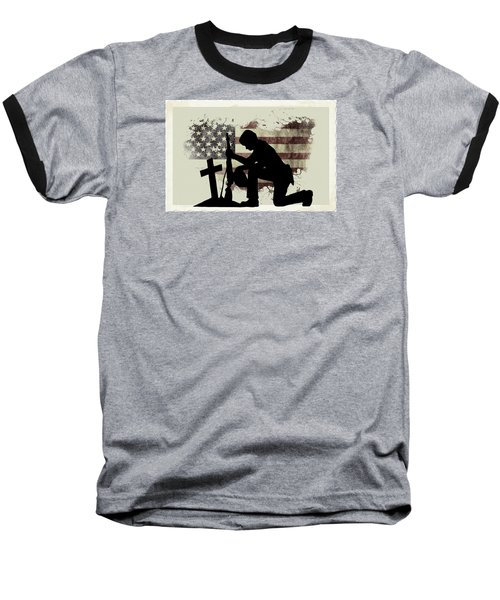 The Cost Of Freedom Baseball T-Shirt