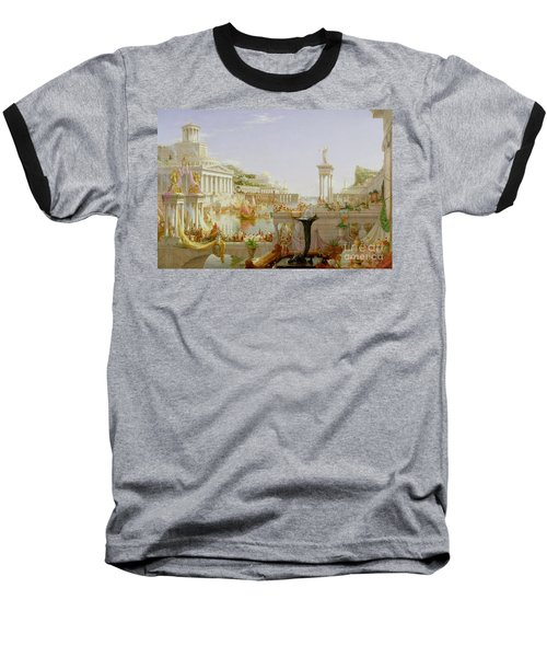 The Course Of Empire - The Consummation Of The Empire Baseball T-Shirt