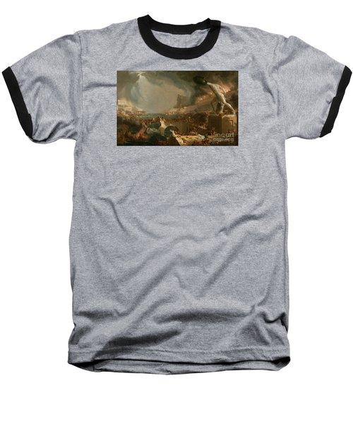 The Course Of Empire Destruction Baseball T-Shirt