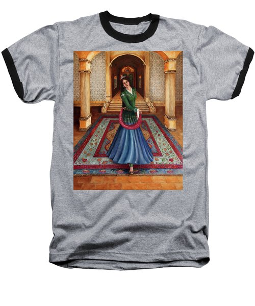 The Court Dancer Baseball T-Shirt