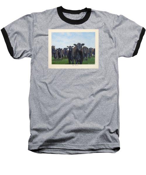 The Court Baseball T-Shirt