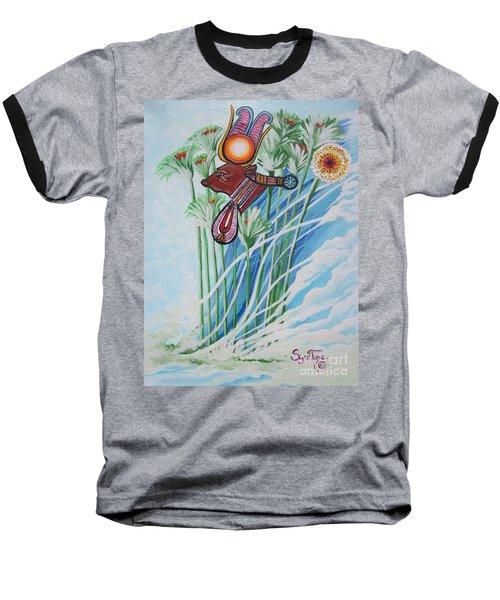 Blaa Kattproduksjoner           The Cow Goddess - Hathor Baseball T-Shirt