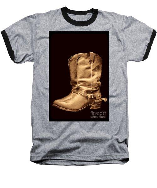The Cowboy Boots Baseball T-Shirt