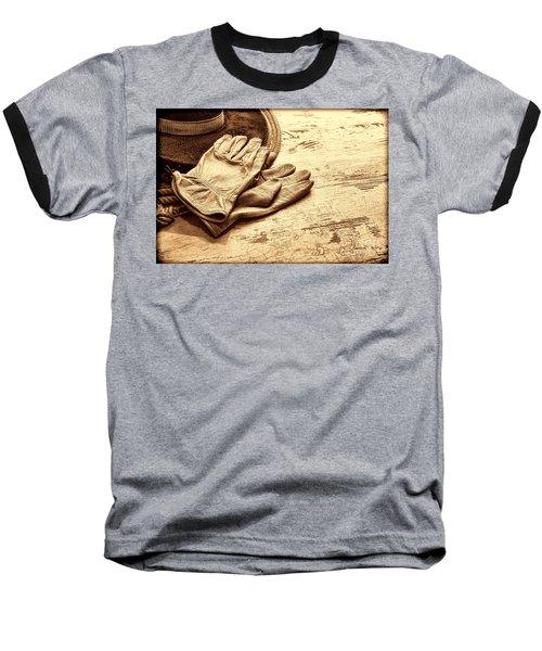 The Cowboy Gloves Baseball T-Shirt