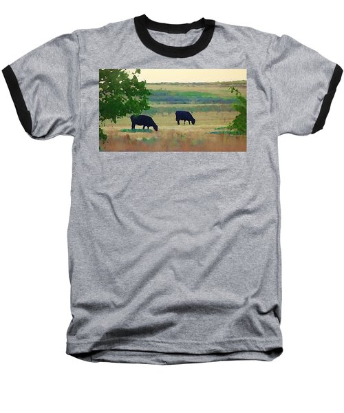 The Cows Next Door Baseball T-Shirt