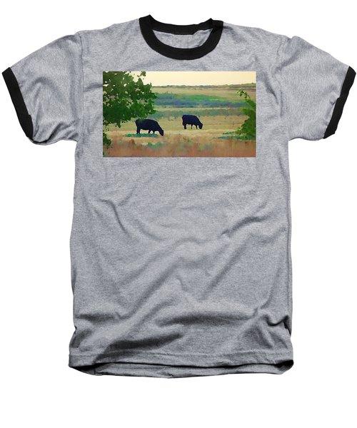 The Cows Next Door Baseball T-Shirt