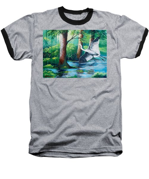 The Crane Baseball T-Shirt