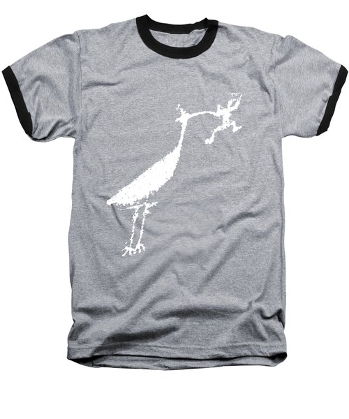 Baseball T-Shirt featuring the photograph The Crane by Melany Sarafis