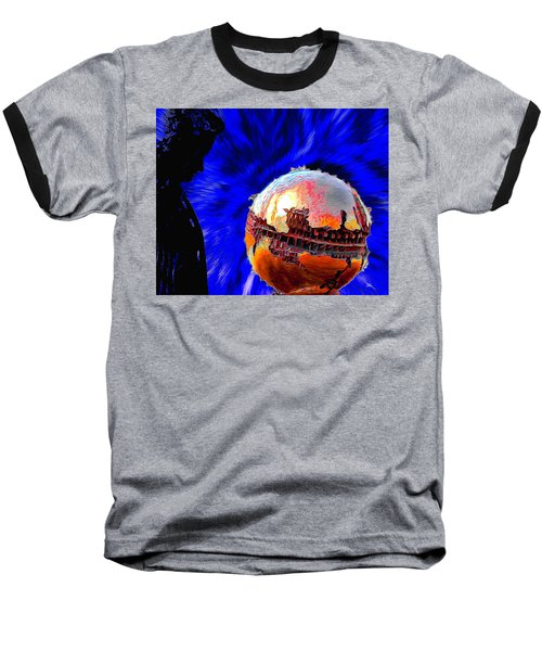 Humanity Calmly Watches The Extinction Baseball T-Shirt