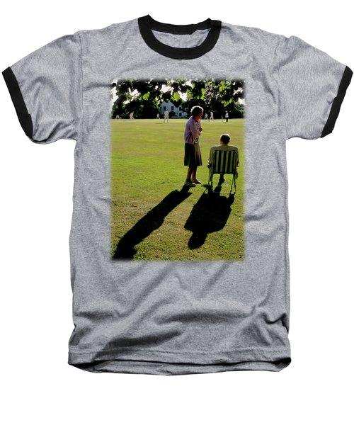 The Cricket Match Baseball T-Shirt