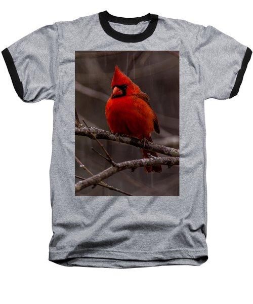 The Crimson Suit Baseball T-Shirt
