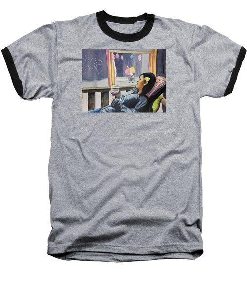 The Crones Blessing Baseball T-Shirt by Teresa Beyer