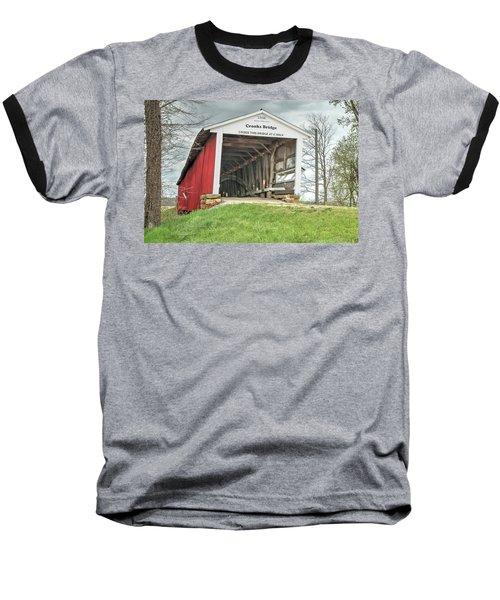 The Crooks Covered Bridge Baseball T-Shirt