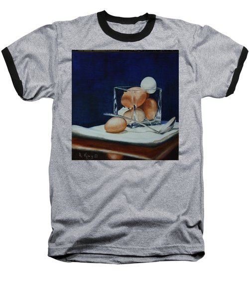 Baseball T-Shirt featuring the painting The Crystal Nest by Roena King