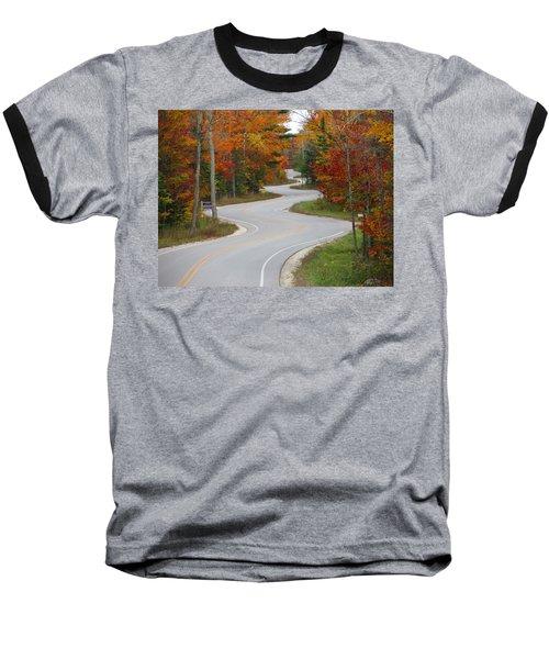 The Curvy Road Baseball T-Shirt