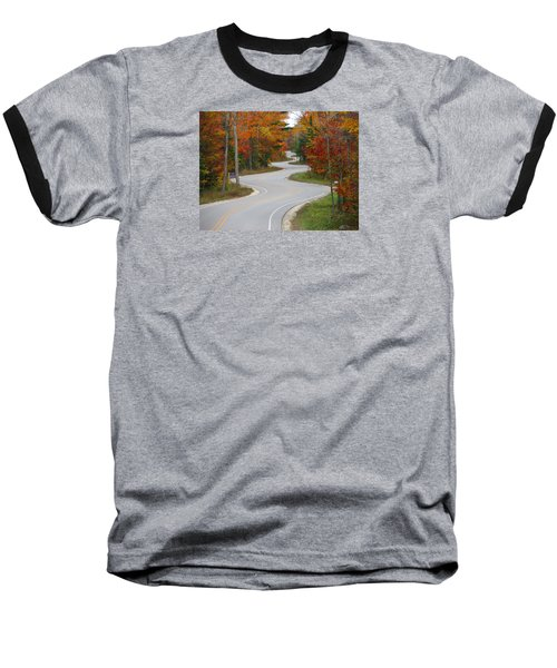 The Curvy Road Baseball T-Shirt