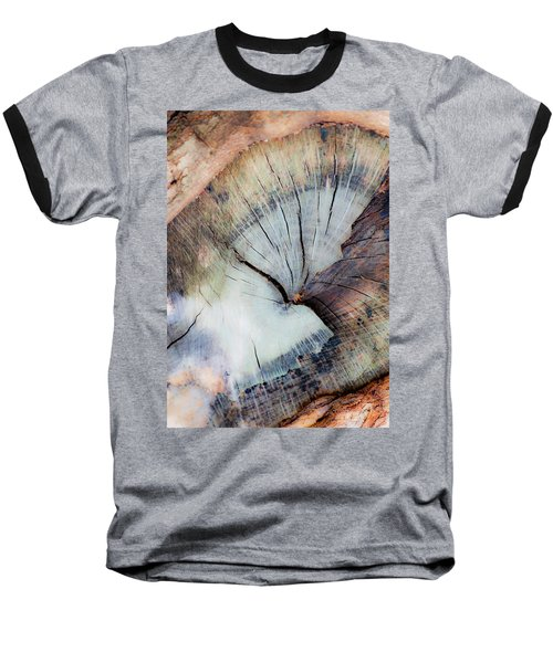 Baseball T-Shirt featuring the photograph The Cut by Stephen Anderson
