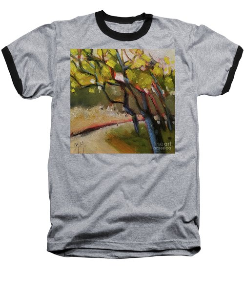 The Dance Abstract Tree Woods Forest Wild Nature Baseball T-Shirt