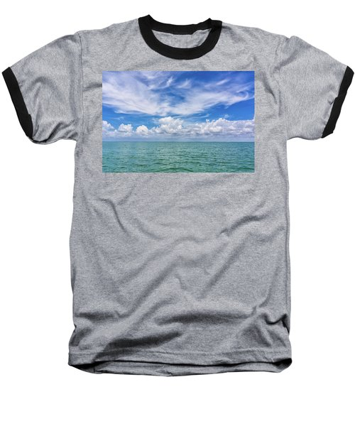 The Dance Of Clouds On The Sea Baseball T-Shirt