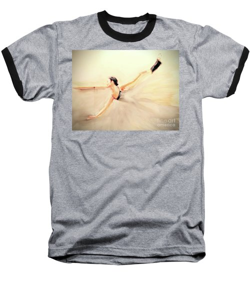 Baseball T-Shirt featuring the painting The Dance Of Life by FeatherStone Studio Julie A Miller