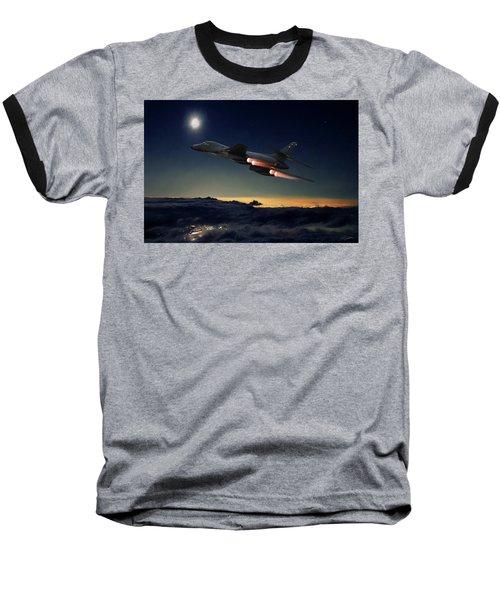 The Dark Knight Baseball T-Shirt by Peter Chilelli