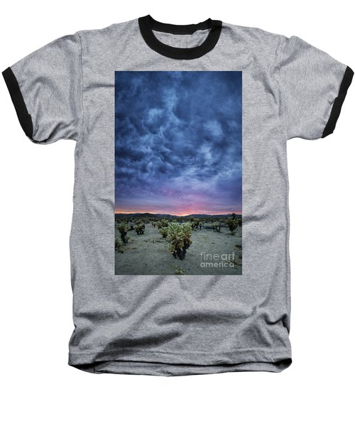 The Dark Sunset 2 Baseball T-Shirt