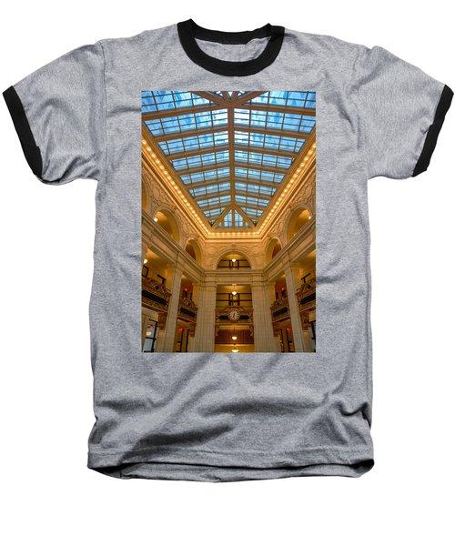 The David Whitney Building Baseball T-Shirt