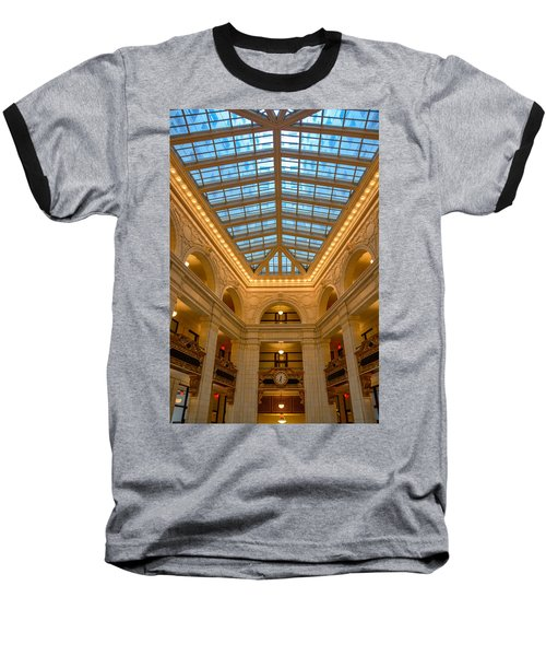 The David Whitney Building Baseball T-Shirt