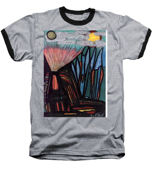 The Dawn Of Formation Baseball T-Shirt by Darrell Black