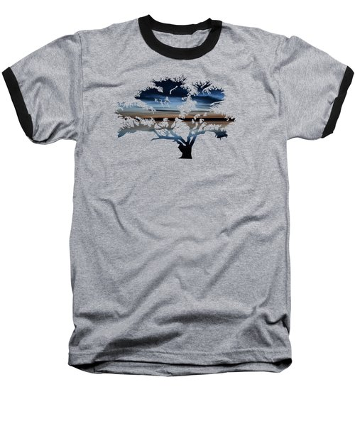 The Dawning Tree Baseball T-Shirt