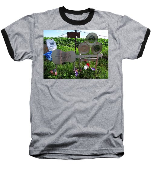 The Day The Music Died Baseball T-Shirt by Keith Stokes