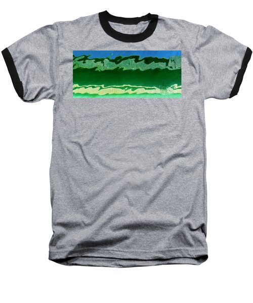 Baseball T-Shirt featuring the photograph The Deep End by Wendy Wilton