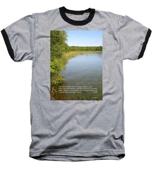 The Deep Heart's Core Baseball T-Shirt